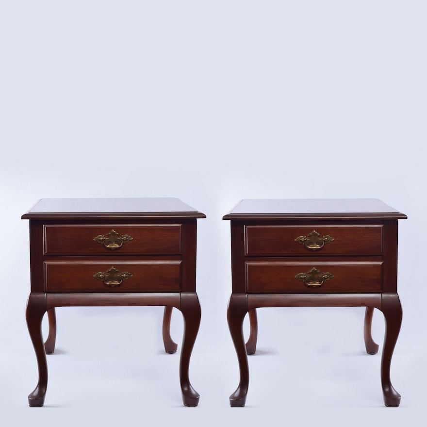 superior furniture company mahogany end tables - Antique Mahogany End Tables