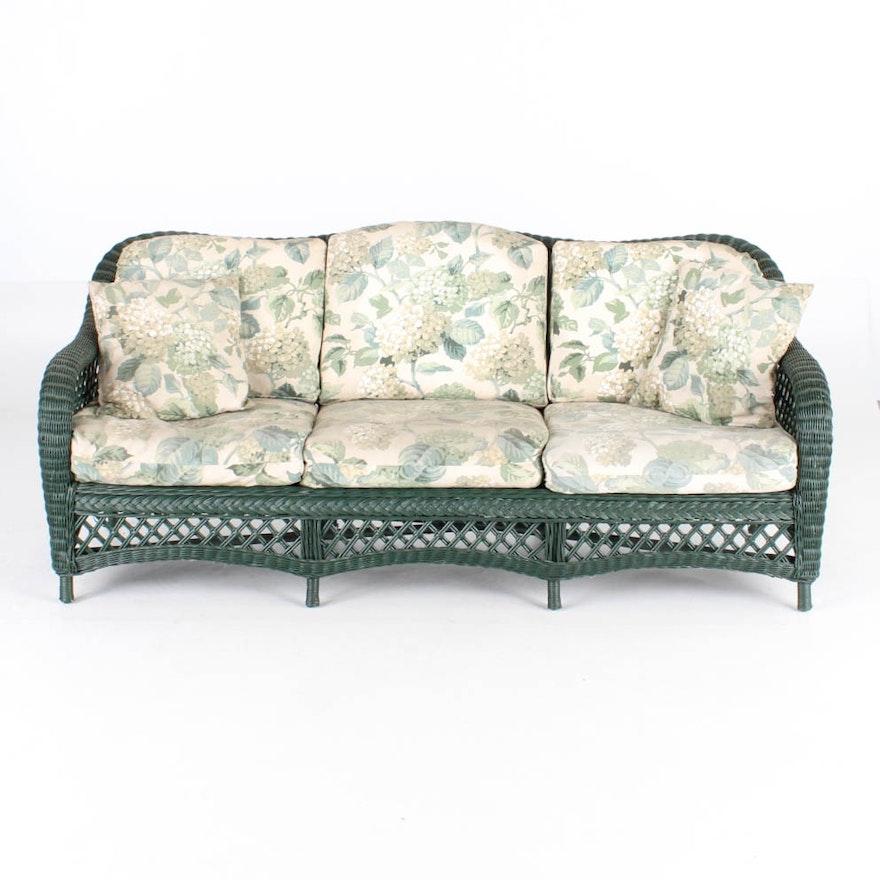 Henry Link Wicker Sofa