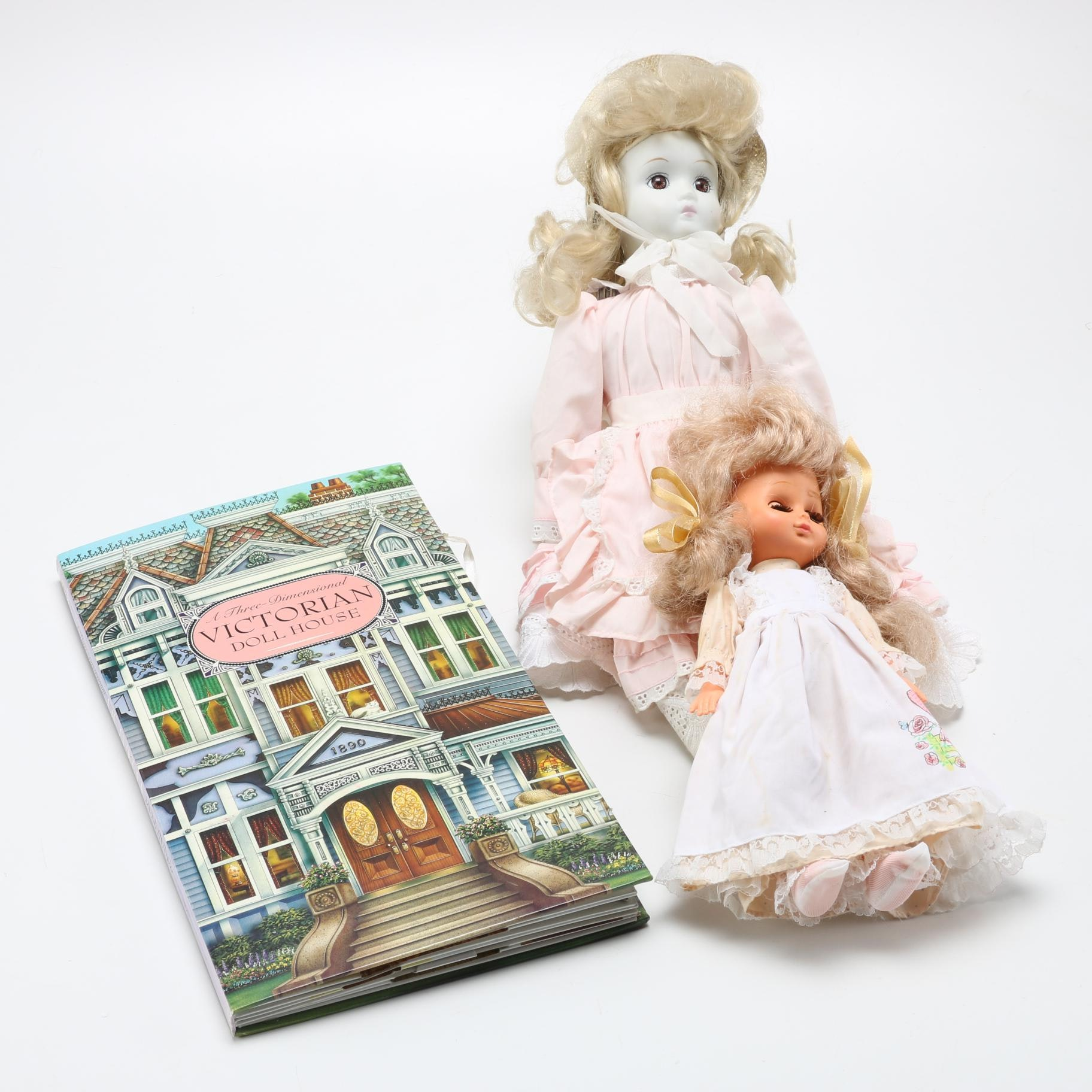 Victorian Style Dolls And Dollhouse Pop Up Book Ebth