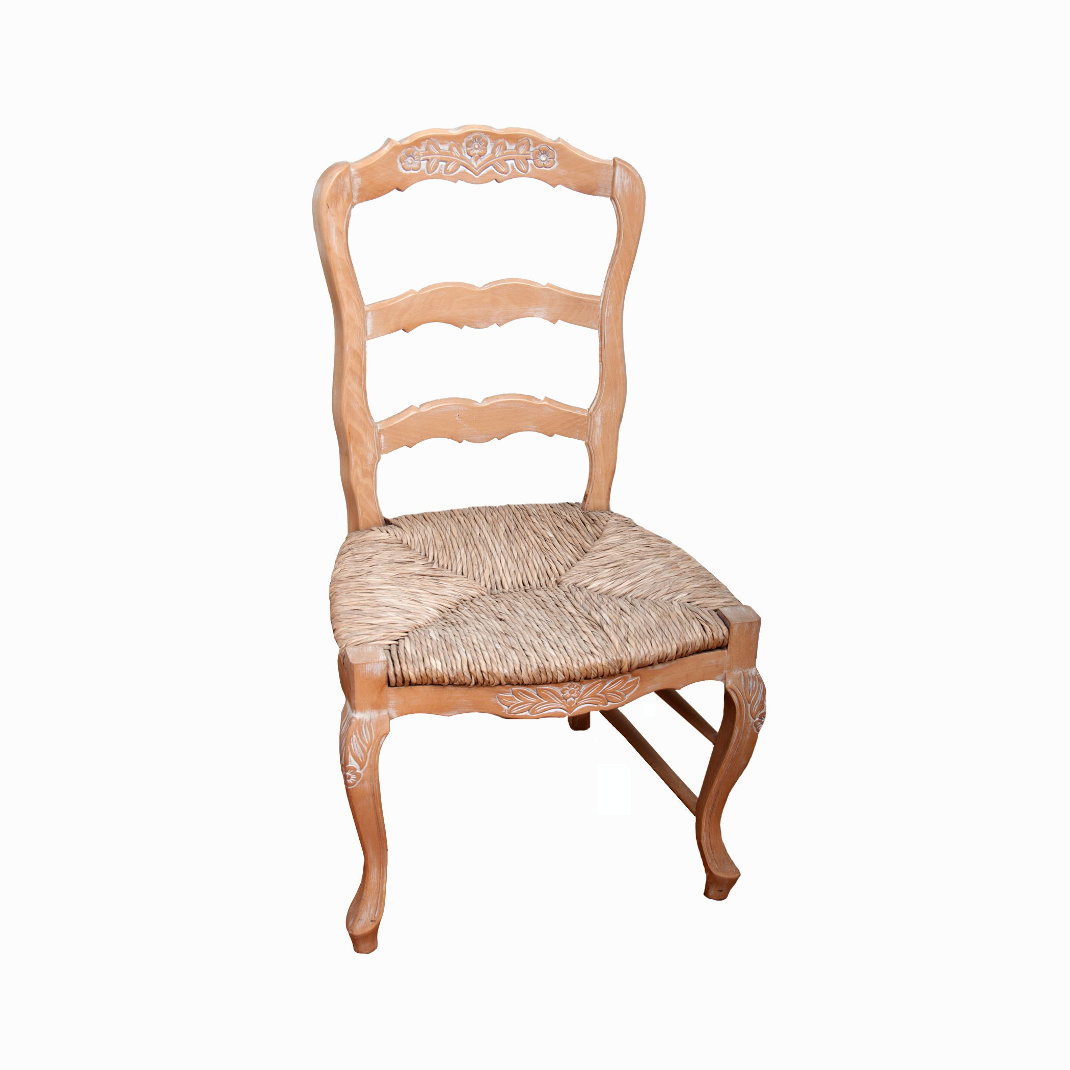 Contemporary Provencal Style Ladderback Chair