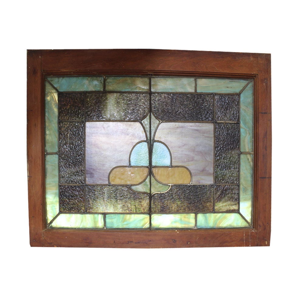 Hanging Stained Glass Window