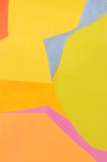 "Hertz Auto Sales >> Beth Hertz Signed Original 1968 Abstract Oil on Canvas ""Ruff"" : EBTH"