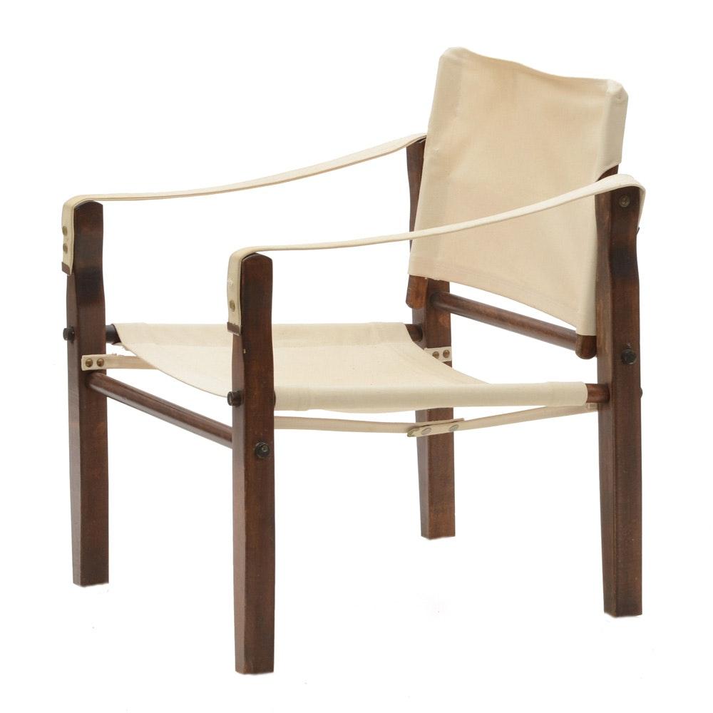 Merveilleux Vintage Canvas Sling Chair ...