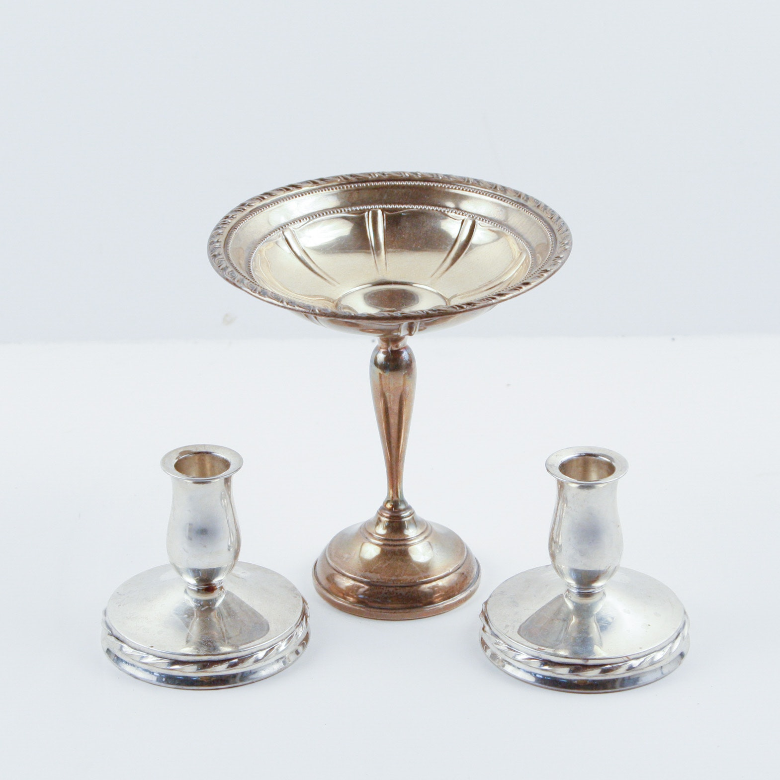 Weighted Sterling Tableware by Towle and Arnston Silver Co.