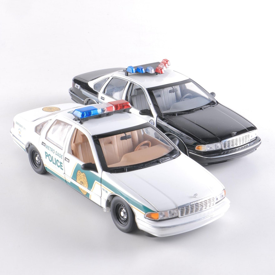 Chevrolet Caprice Police Cars from UT Models