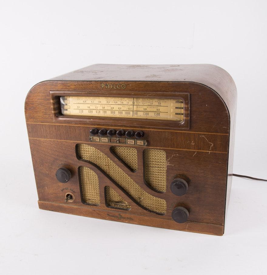 Philco Vintage Radio 77