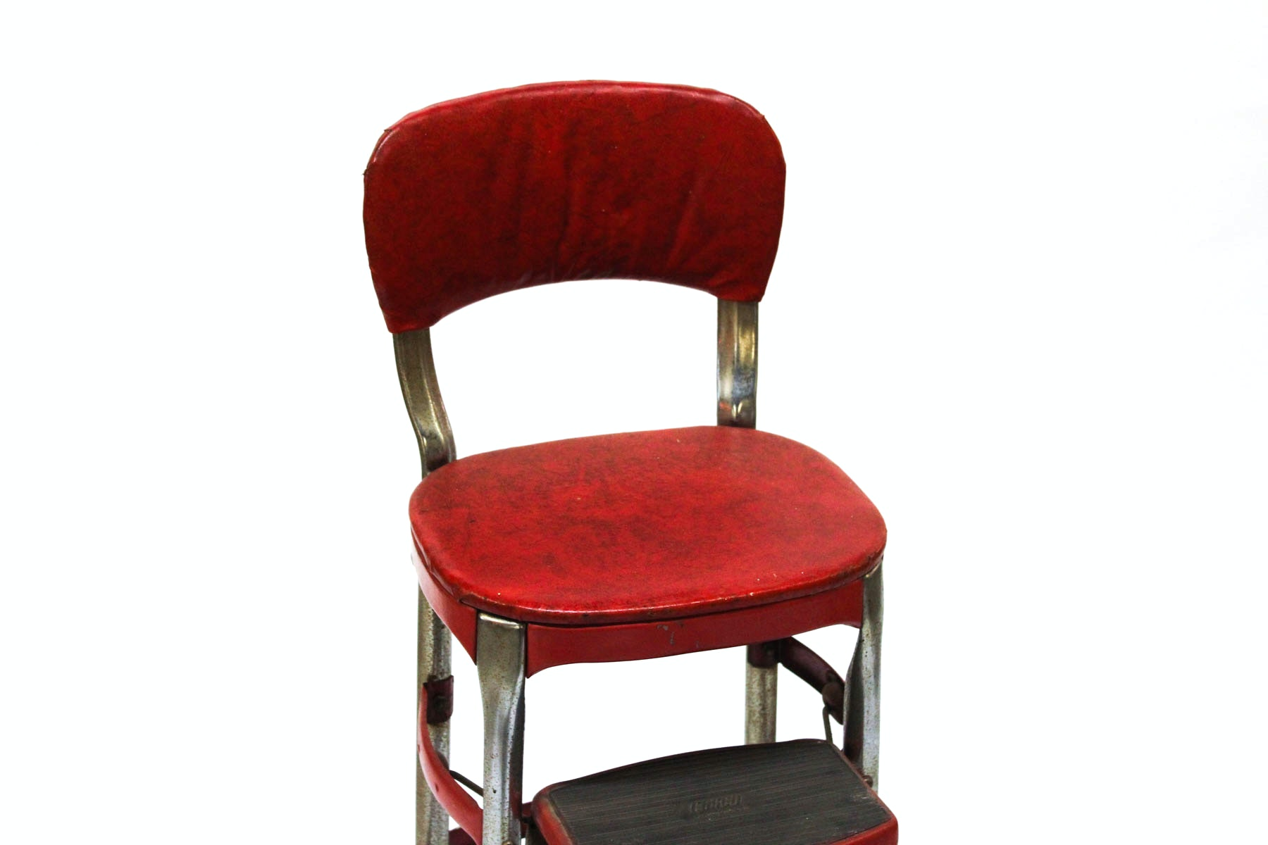 Vintage Cosco Products Step Stool Chair Ebth