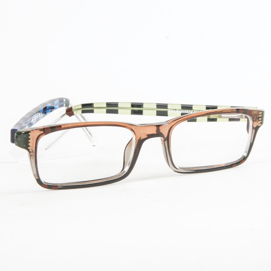 Ronit Furst Hand-Painted Eyeglass Frames : EBTH