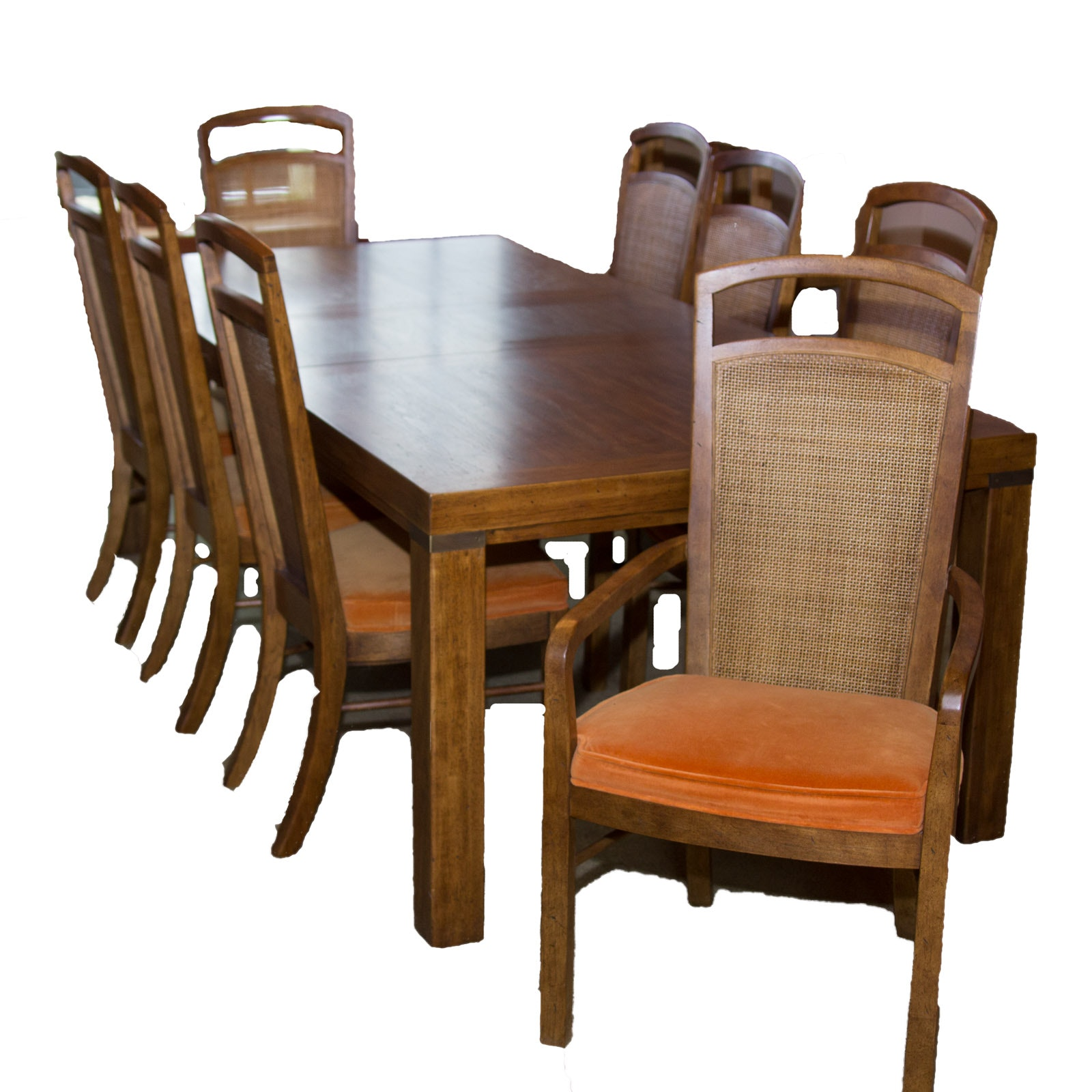 Drexel Woodbriar Dining Table And Chairs Ebth