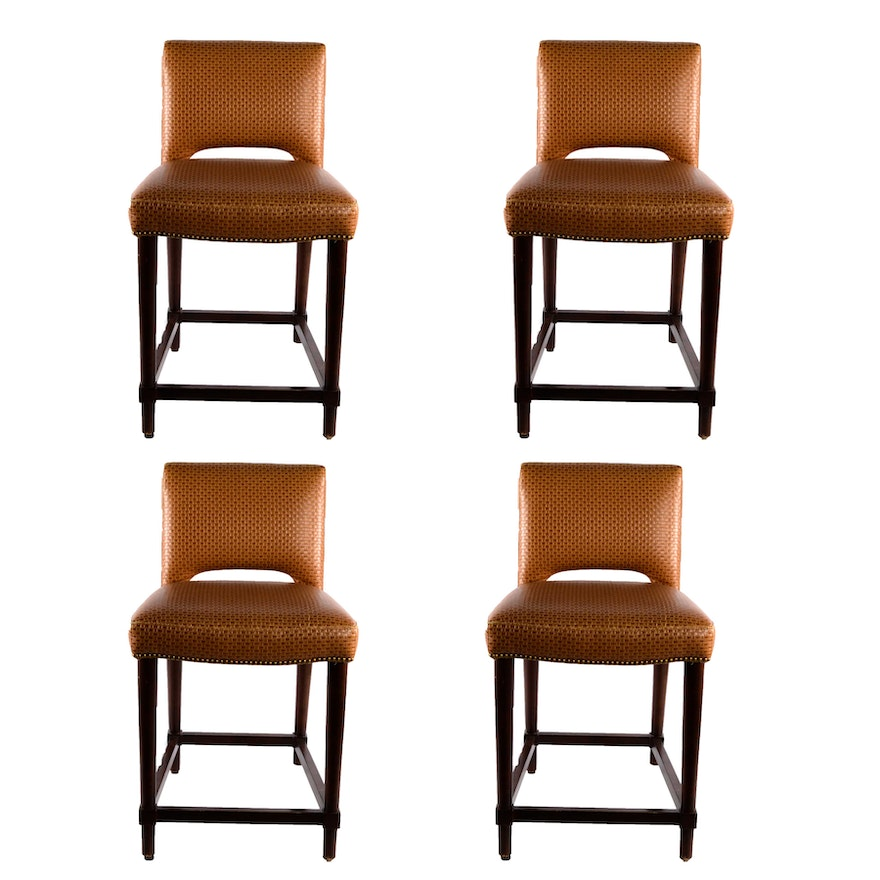 Enjoyable Hancock Moore Ellie Bar Stools Gmtry Best Dining Table And Chair Ideas Images Gmtryco