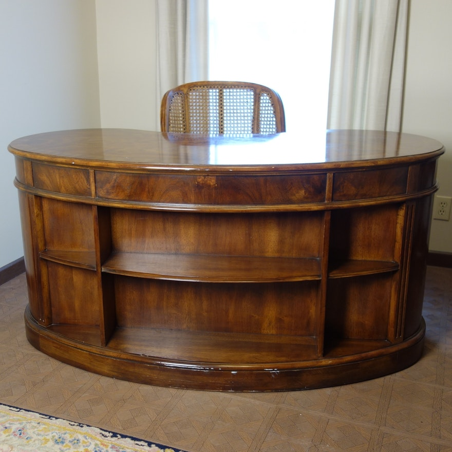 Vintage Kidney Shape Heritage Desk