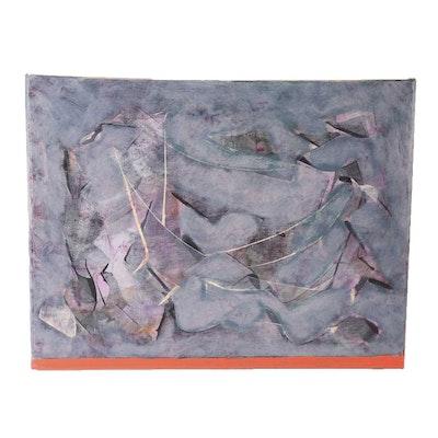 """Ricardo Morin Oil Painting on Linen """"Still Forty-two"""""""
