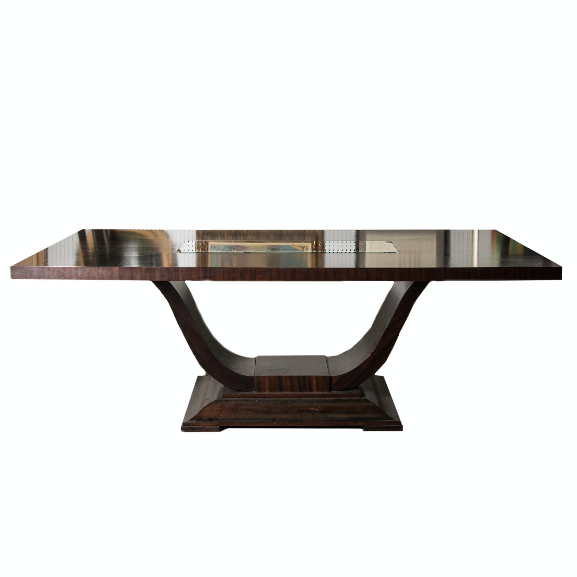 Modern Mahogany Dining Table EBTH : VIK2716jpgixlibrb 11 from www.ebth.com size 880 x 906 jpeg 42kB