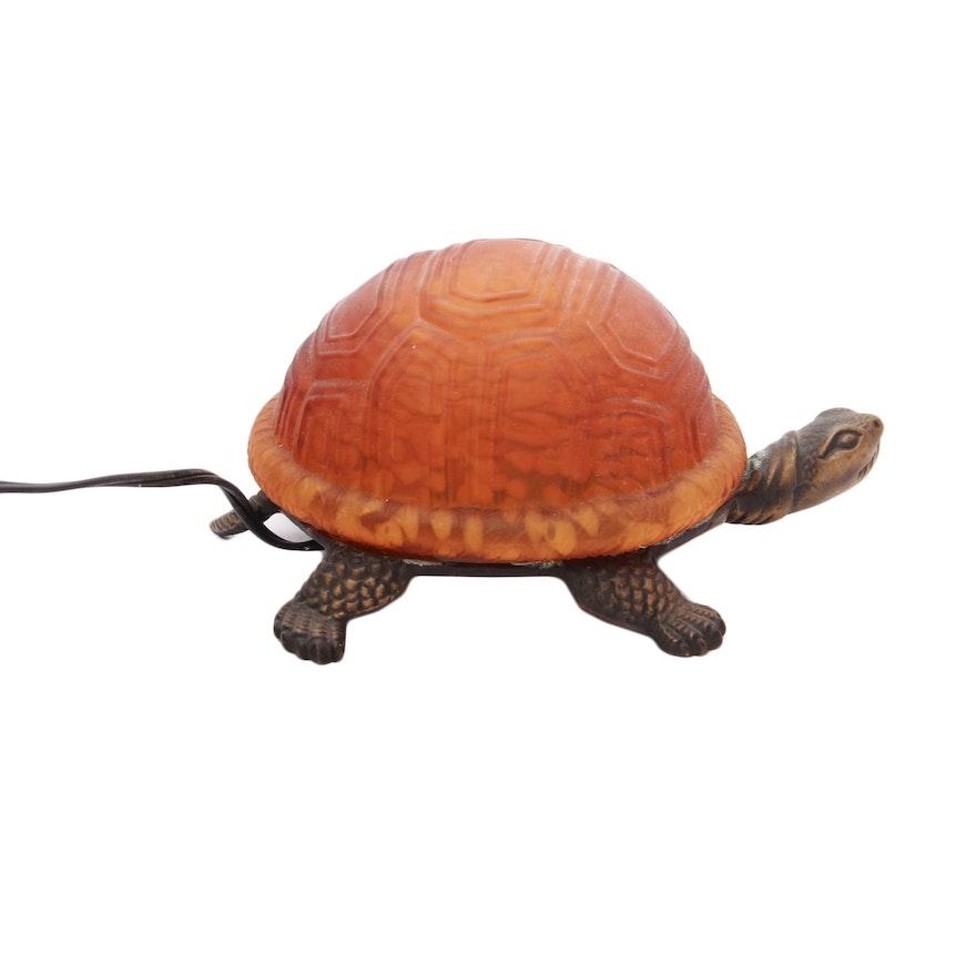Andrea by sadek glass turtle table lamp ebth andrea by sadek glass turtle table lamp aloadofball Choice Image