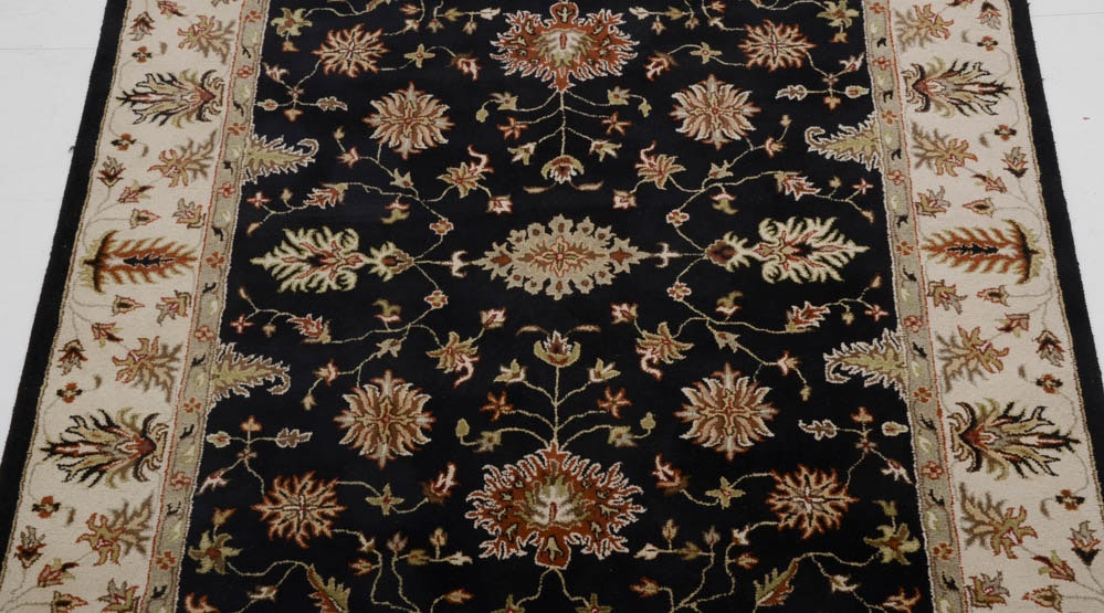 Hand Tufted Broyhill Wool Area Rug Ebth