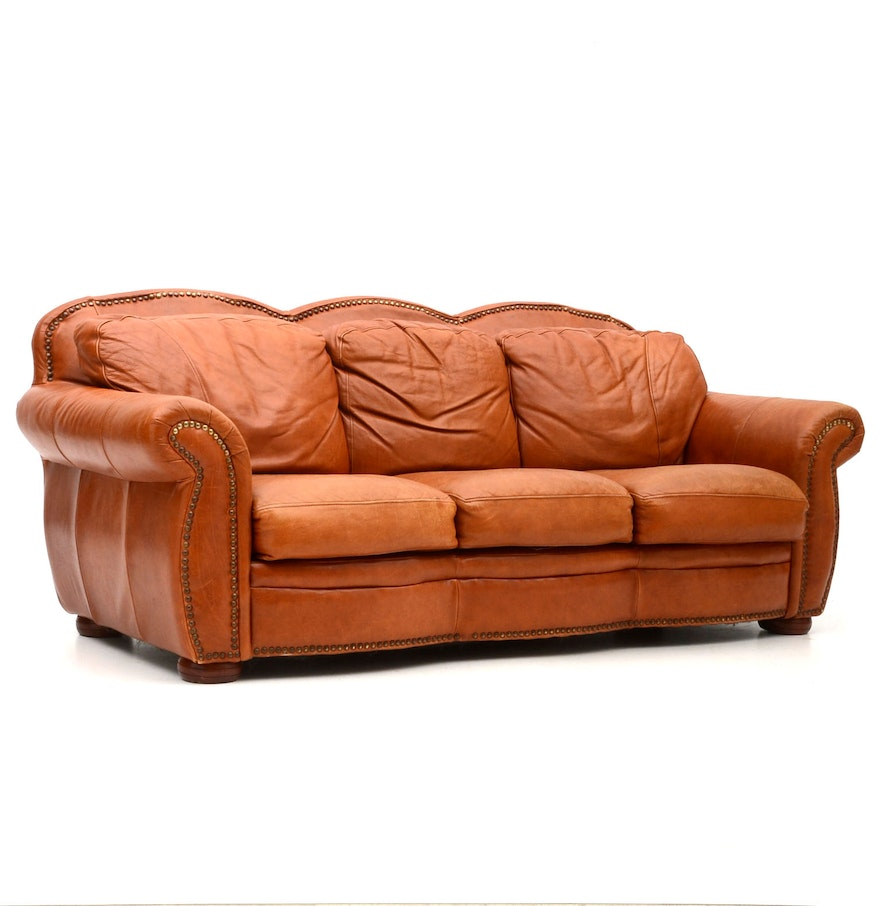 Sofa express leather sofa ebth for Divan xpress