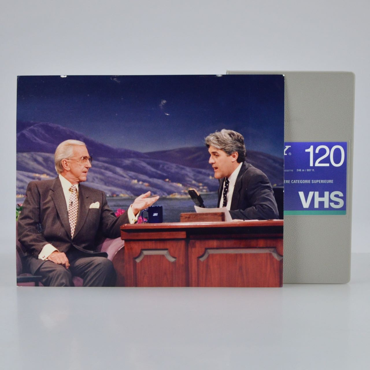 "Original NBC VHS Tape of ""The Tonight Show"" with Ed McMahon"