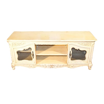 Contemporary Louis XV Style Entertainment Stand. Furniture Auctions Online   Antique Furniture Auctions in Home