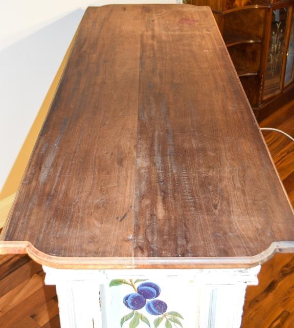 Bowed Kitchen Cabinet Shelves