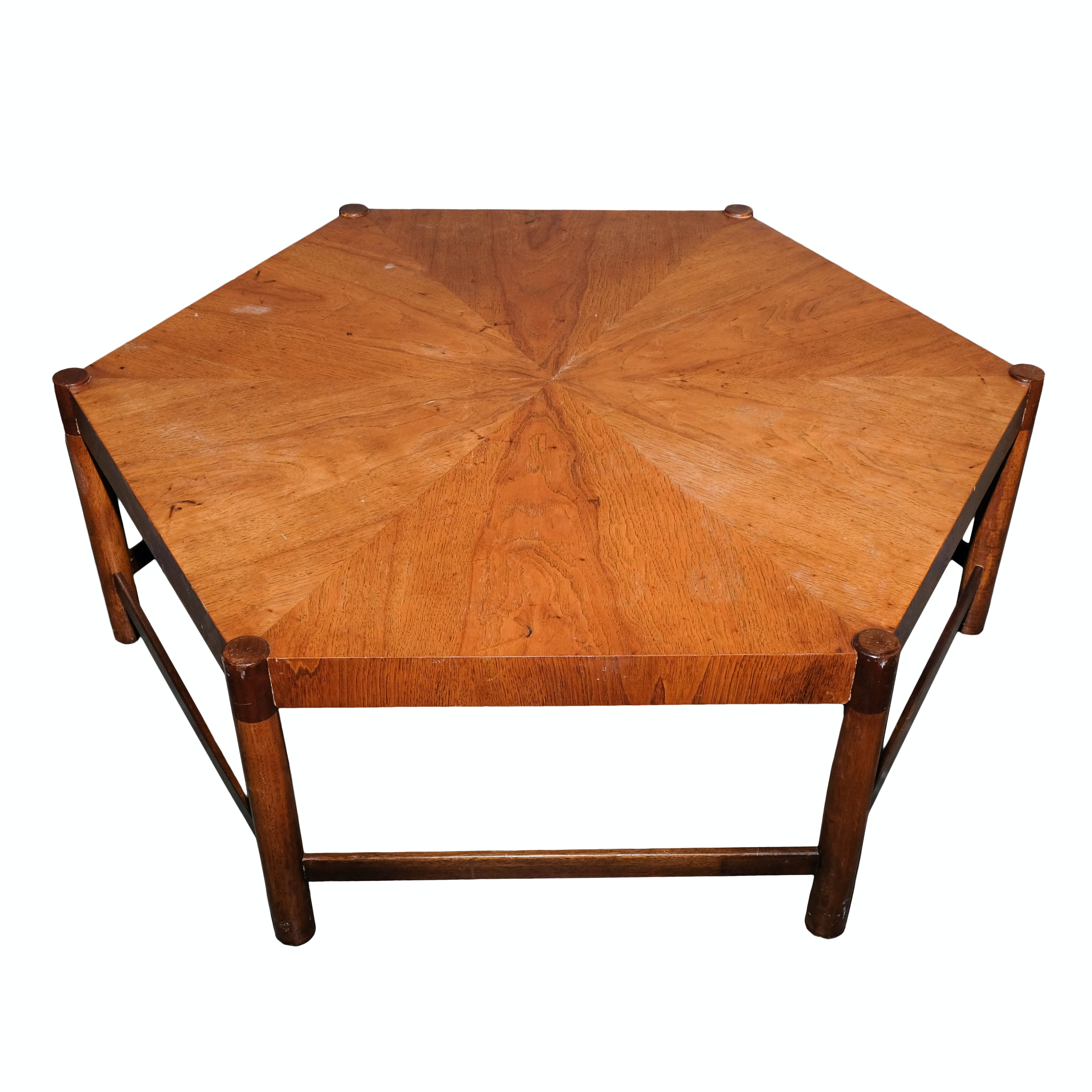 Hexagonal Coffee Table Midcentury Hexagonal Side Table By Hans C Andersen For Artex For With