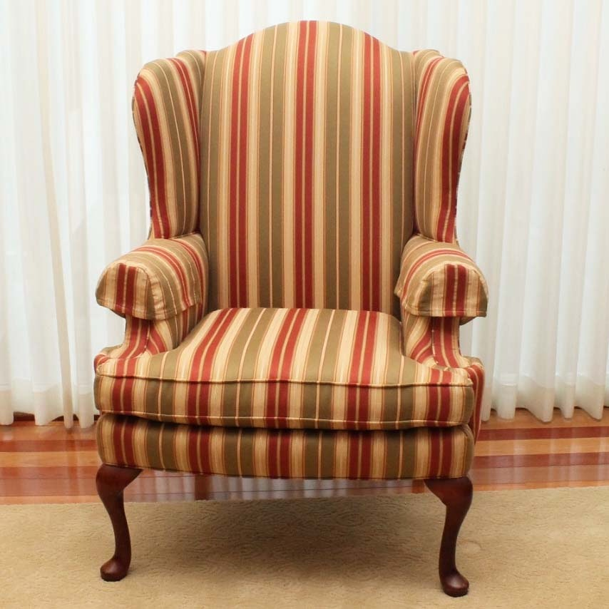 Sherrill Furniture Wing Back Chair