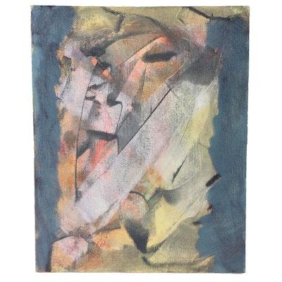 "Ricardo Morin Oil Painting on Linen on Board ""Still Twenty-eight"""