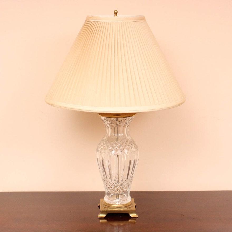Waterford crystal kelsey table lamp ebth waterford crystal kelsey table lamp aloadofball Image collections