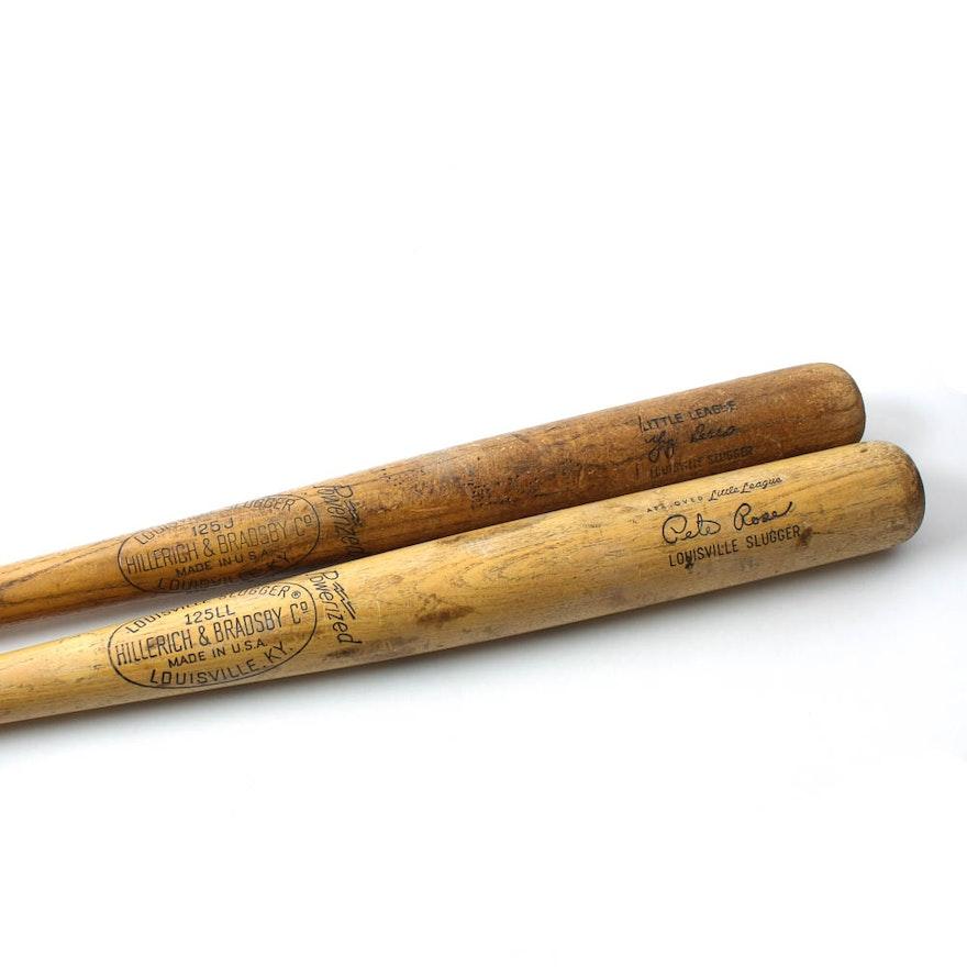Vintage Louisville Slugger Little League Baseball Bats