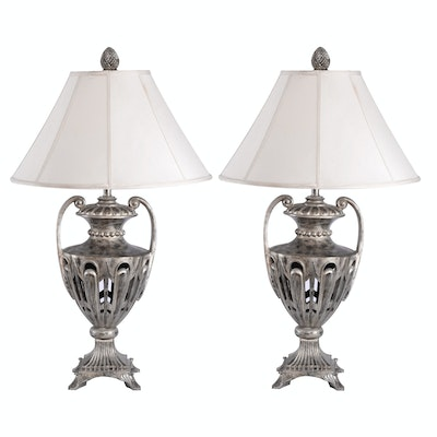 Vintage floor lamps retro table lamps antique lighting in art tuscan style table lamps aloadofball Image collections