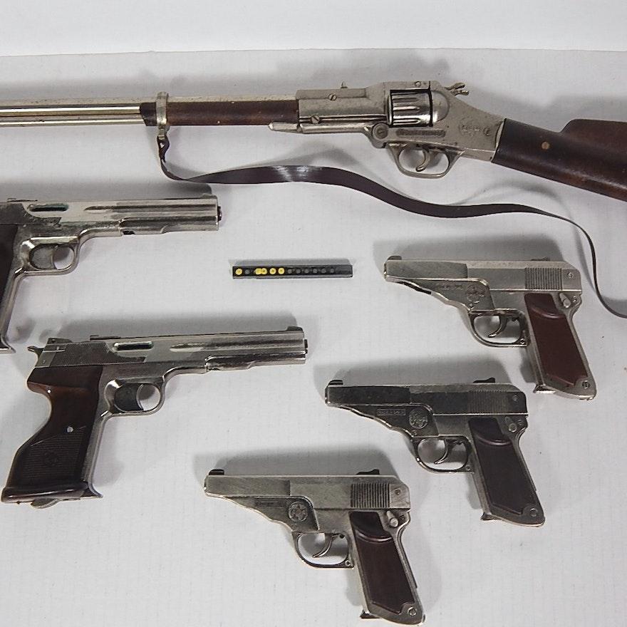 Collection Of Coibel Spain Automatic Cap Guns Ebth