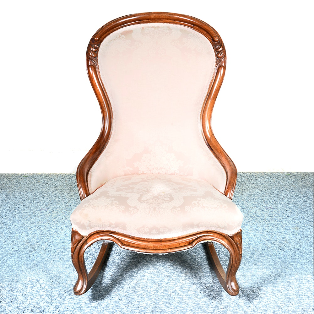 Late 19th Century Victorian Rocking Chair