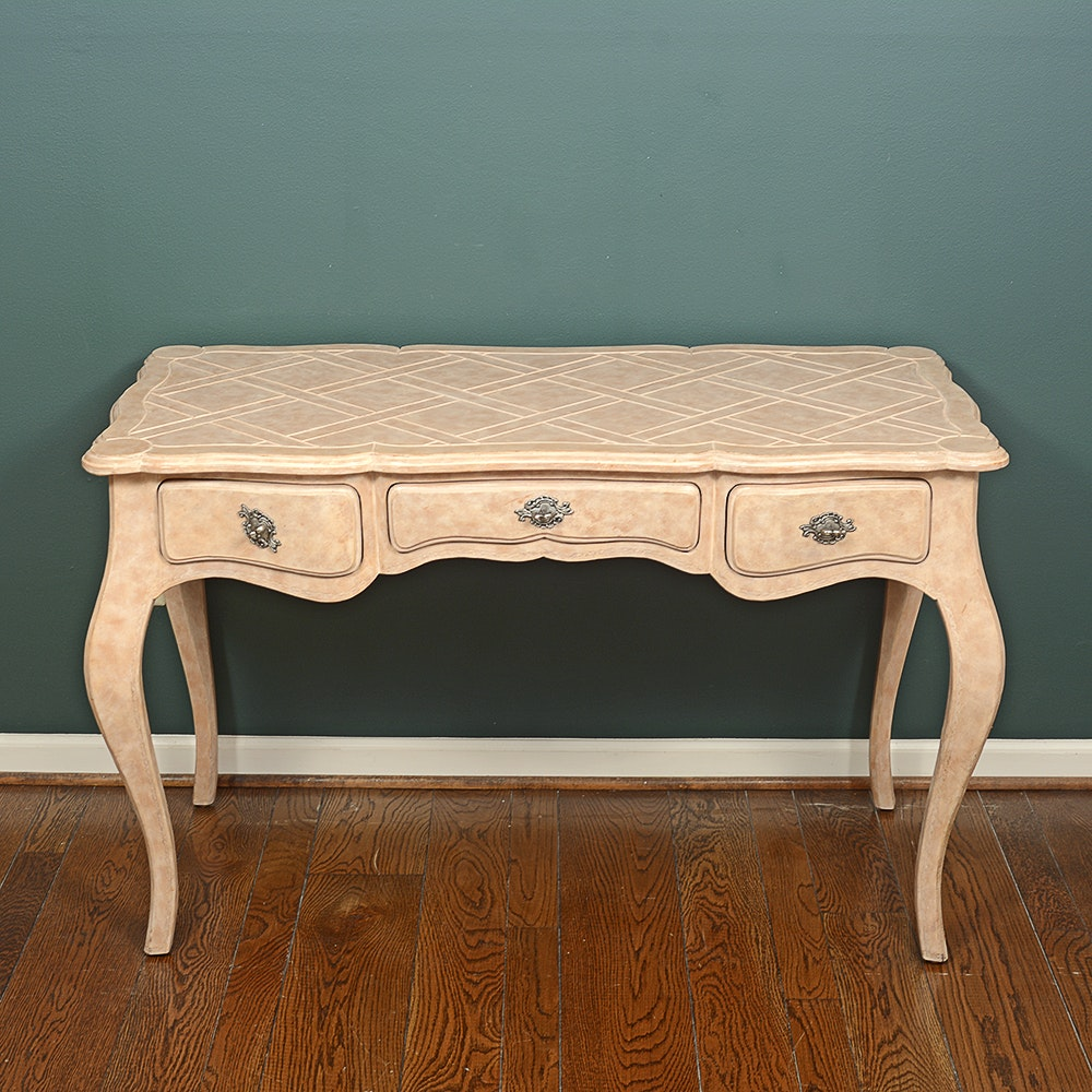 French Provincial Style Desk by La Barge