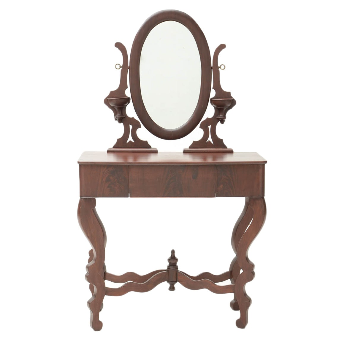 Late Classical Dressing Table with Mirror