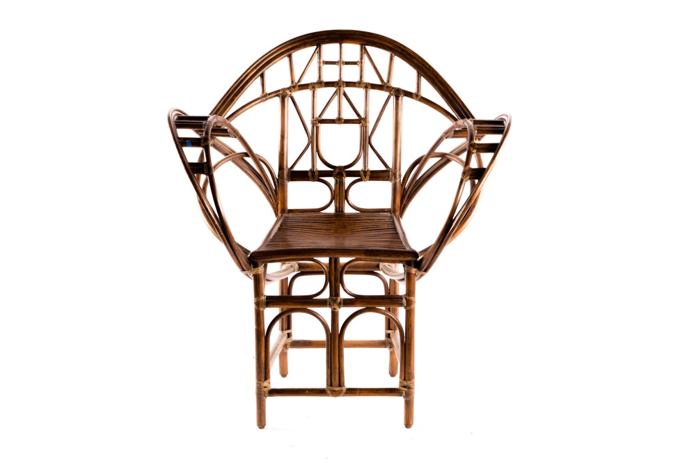 McGuire Rattan Butterfly Chair ...