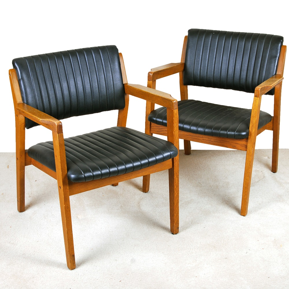 Stout Chair Company Mid-Century Arm Chairs