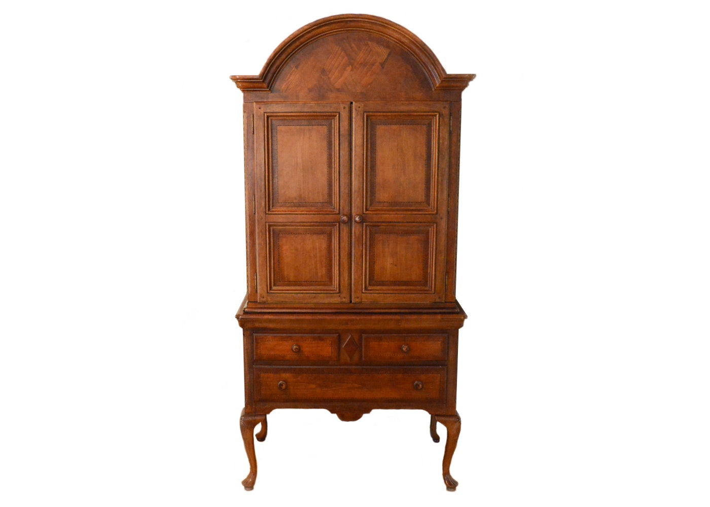 "Alexander Julian ""Home Colours"" Pecan Armoire"