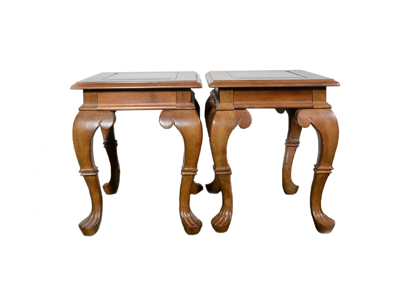 Pair of Wooden Side Tables