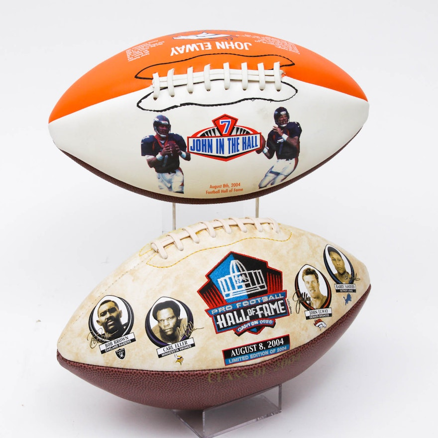 0d40f076f 2004 Hall of Fame Collector s Footballs   EBTH