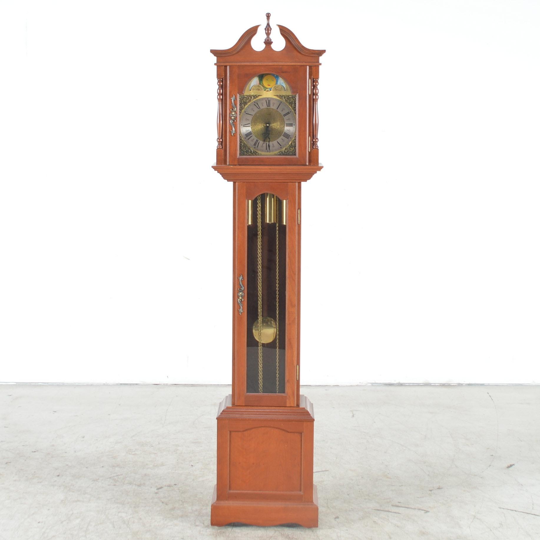 Cherry Grandfather Clock by Emperor