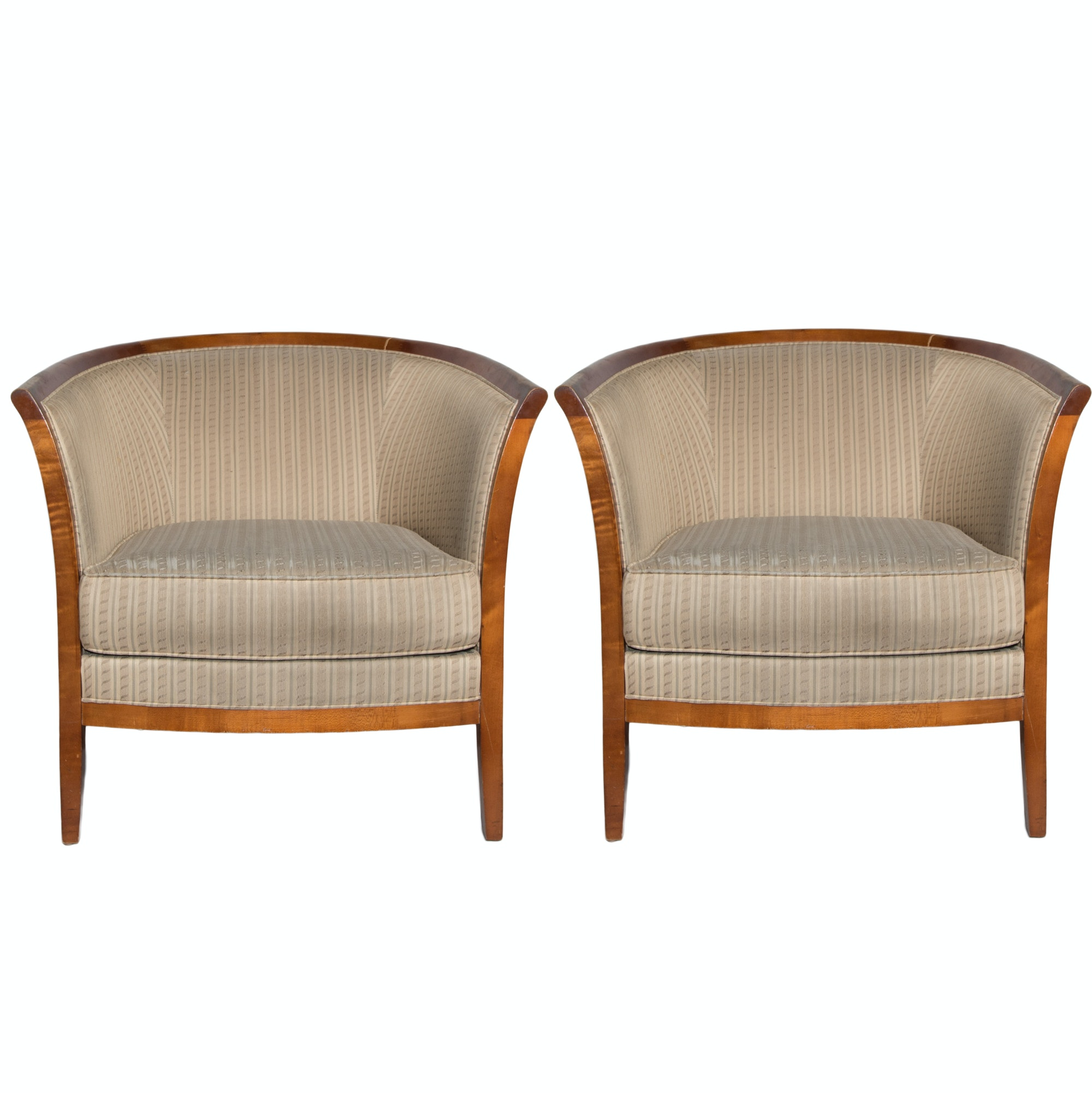 bernhardt barrel chairs 1x1