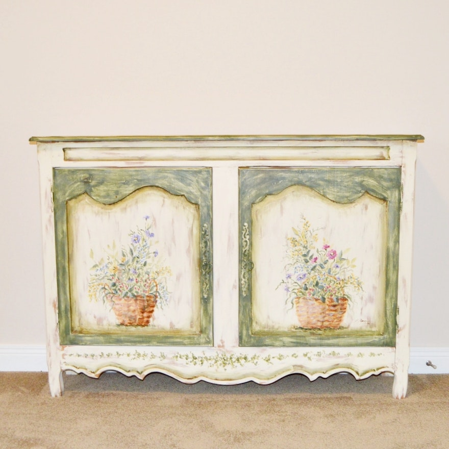 Habersham Plantation Hand Painted Sideboard