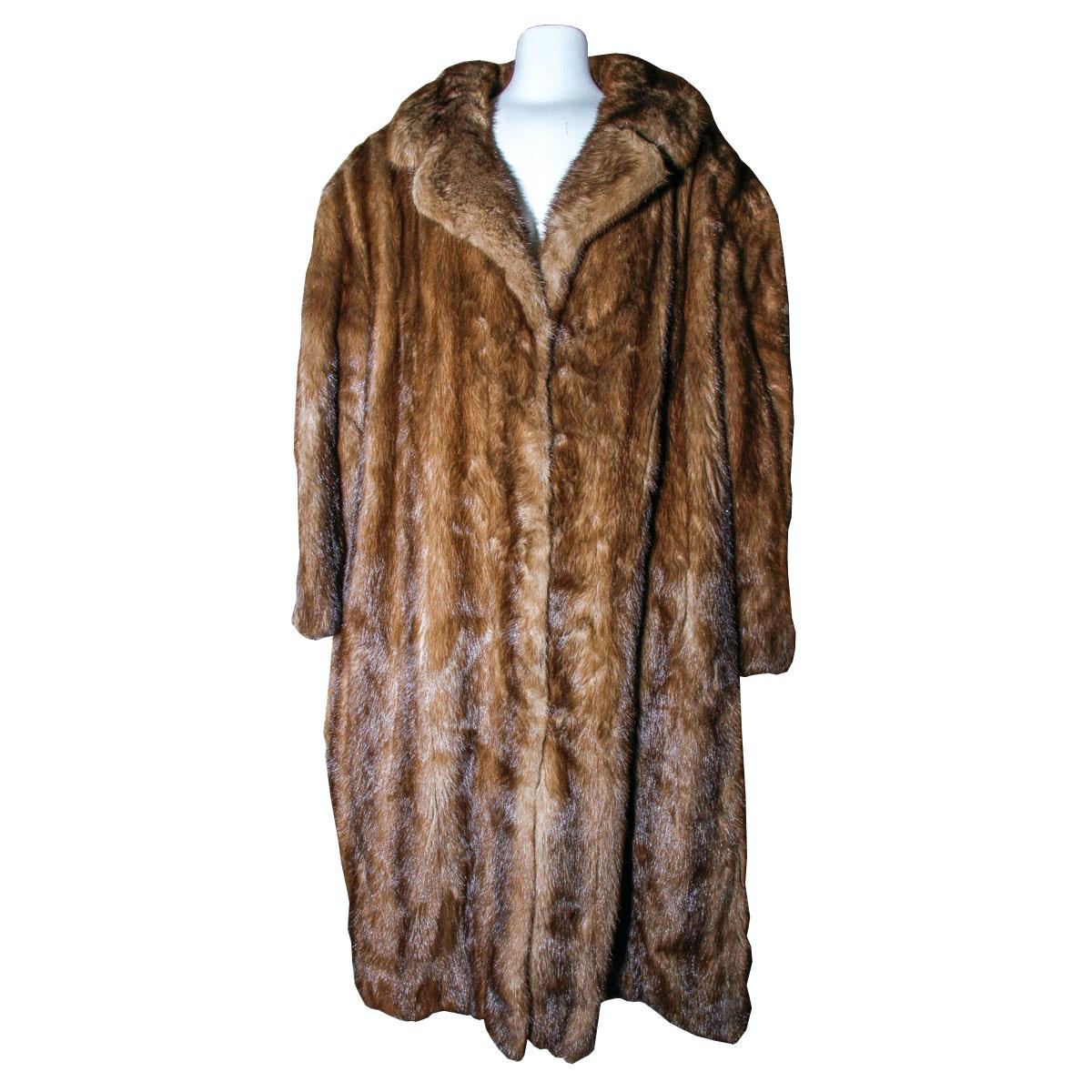 Vintage Mink Fur Coat : EBTH