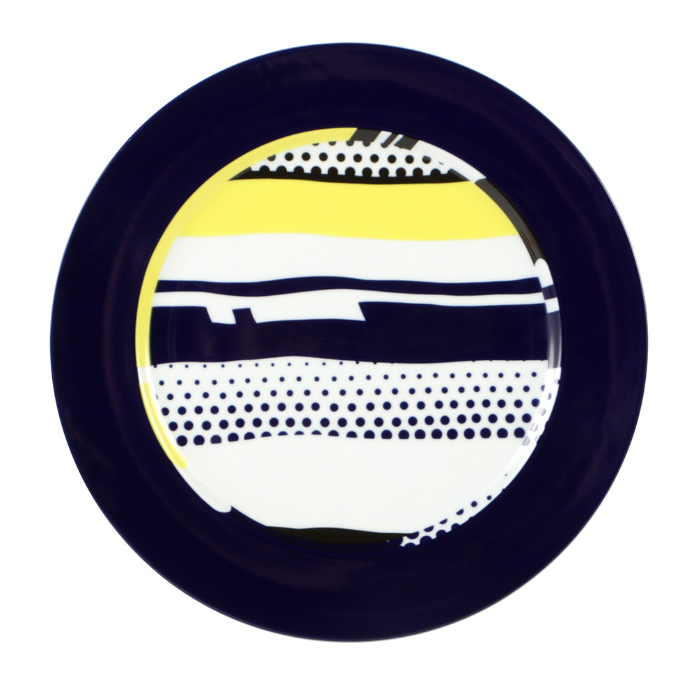 Roy Lichtenstein Limited Edition Rosenthal Plate