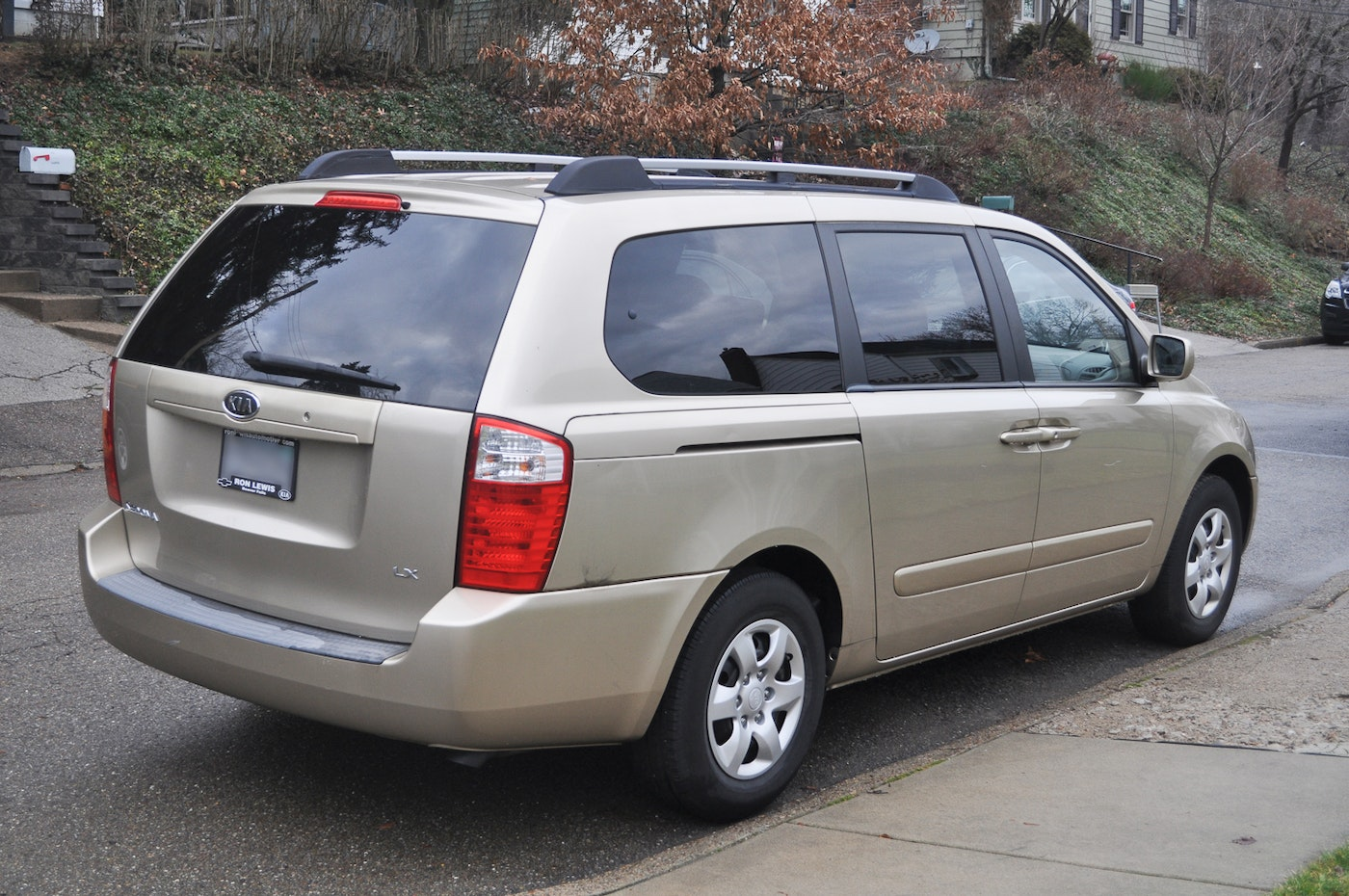 2007 kia sedona lx minivan ebth. Black Bedroom Furniture Sets. Home Design Ideas