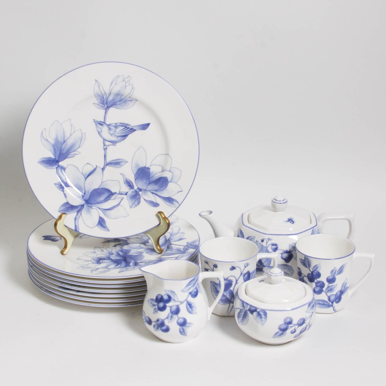 Tiffany u0026 Co. China Dinnerware ... & Tiffany u0026 Co. China Dinnerware : EBTH