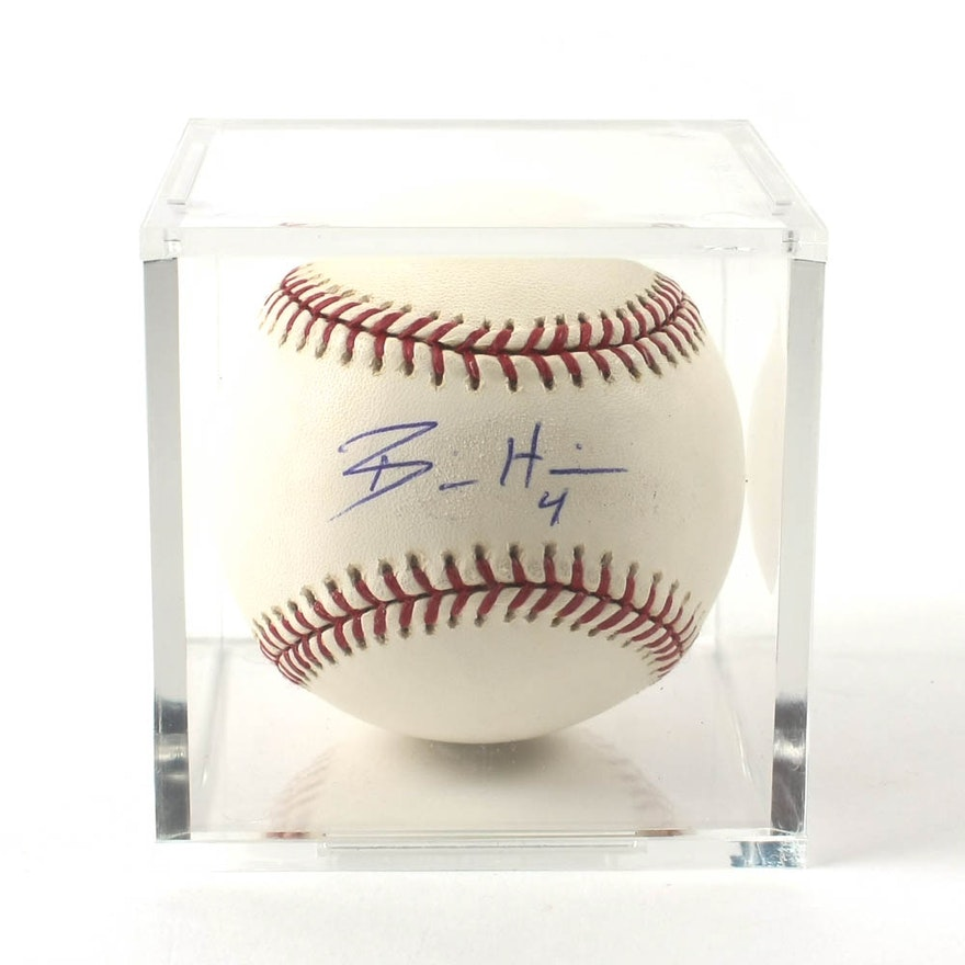 30adcbb65cd Billy Hamilton Cincinnati Reds Signed Official Major League Baseball   EBTH