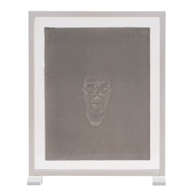 "Chuck Close Limited Edition ""Watermark Self-Portrait"""