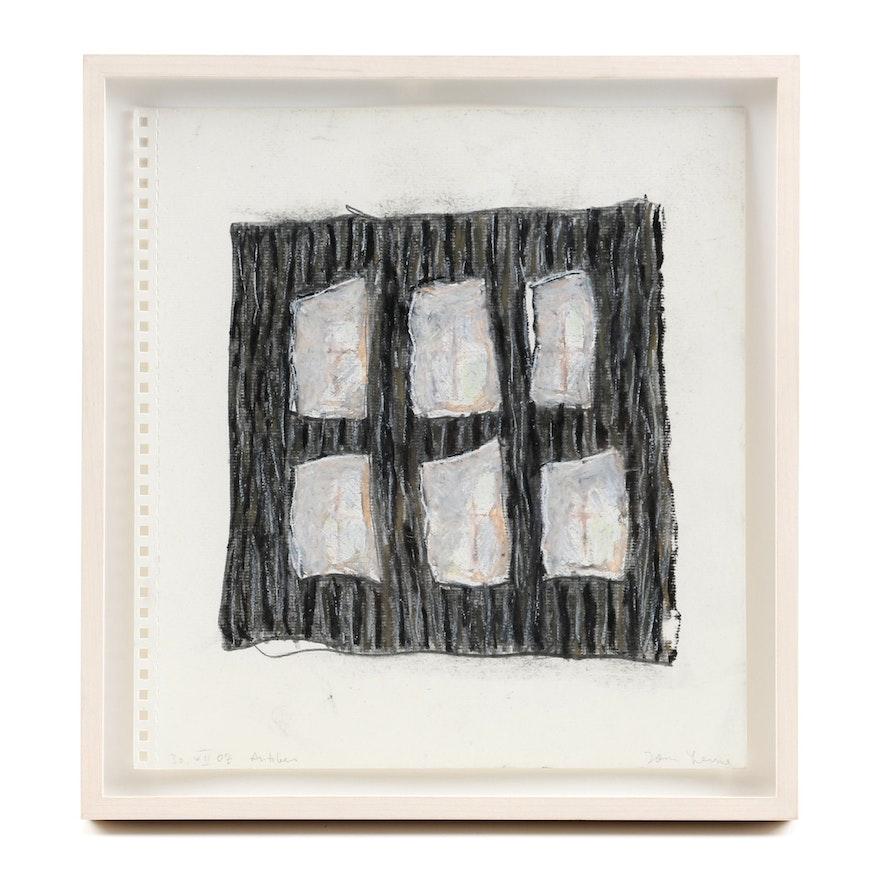 """Tom Levine Sketchbook Drawing on Paper """"30.VII.07"""""""
