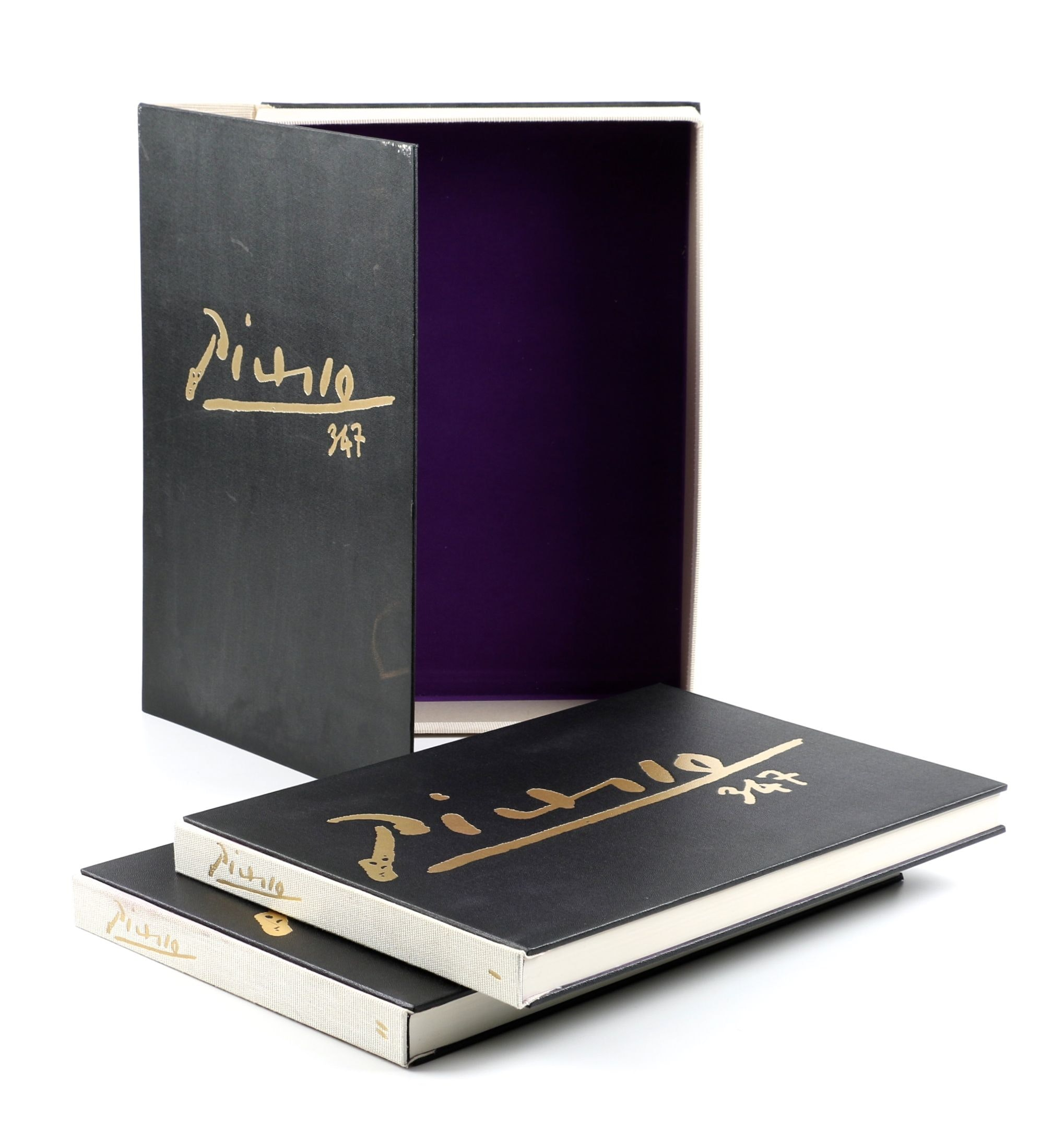 "Collector's Rare Complete First Edition ""Picasso 347"" Volumes"