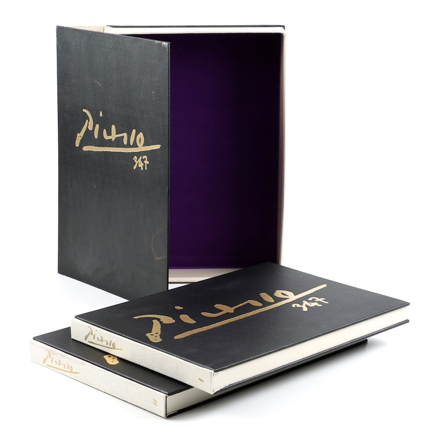 """Collector's Rare Complete First Edition """"Picasso 347"""" Volumes"""